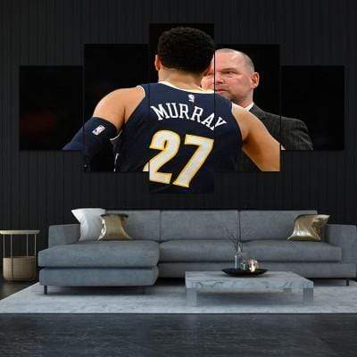 Jamal Murray Denver Nuggets Canvas Set - San Diego Art House