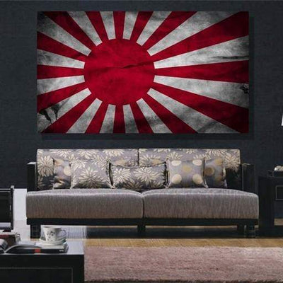 san-diego-art-house - Japan Flag Canvas Set - CANVAS ART LAB -