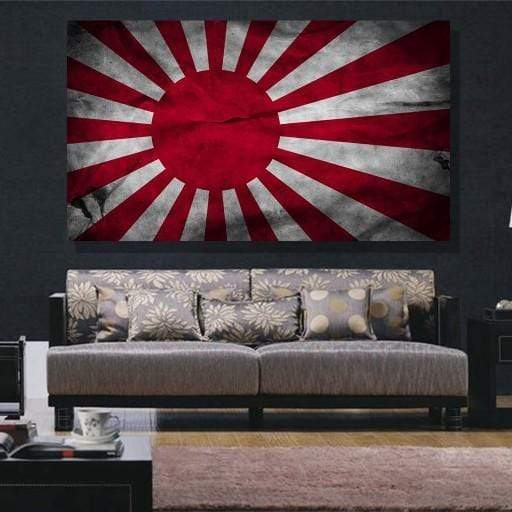 Japan Flag Canvas Set