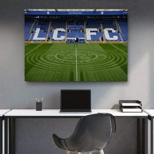 King Power Stadium Canvas Set - san-diego-art-house