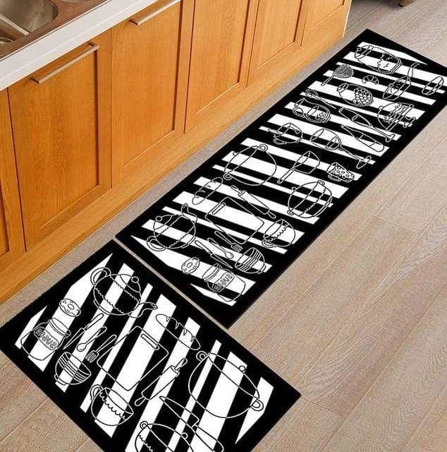 Kitchen Mat / Anti-slip Modern Area Rugs - San Diego Art House