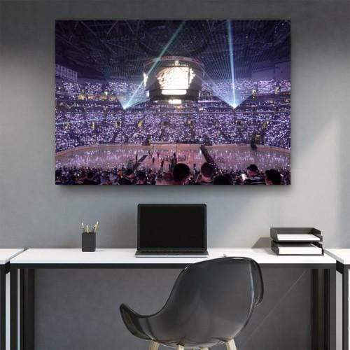 La Kings Home Opener Canvas Set