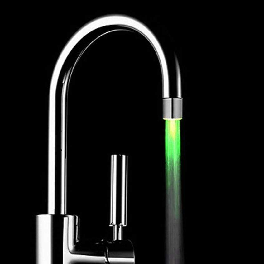 San Diego Art House LED Light Water Faucet Tap Heads