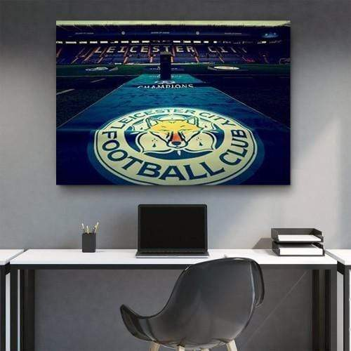 CANVAS ART LAB Leicester City Football Club Canvas Set