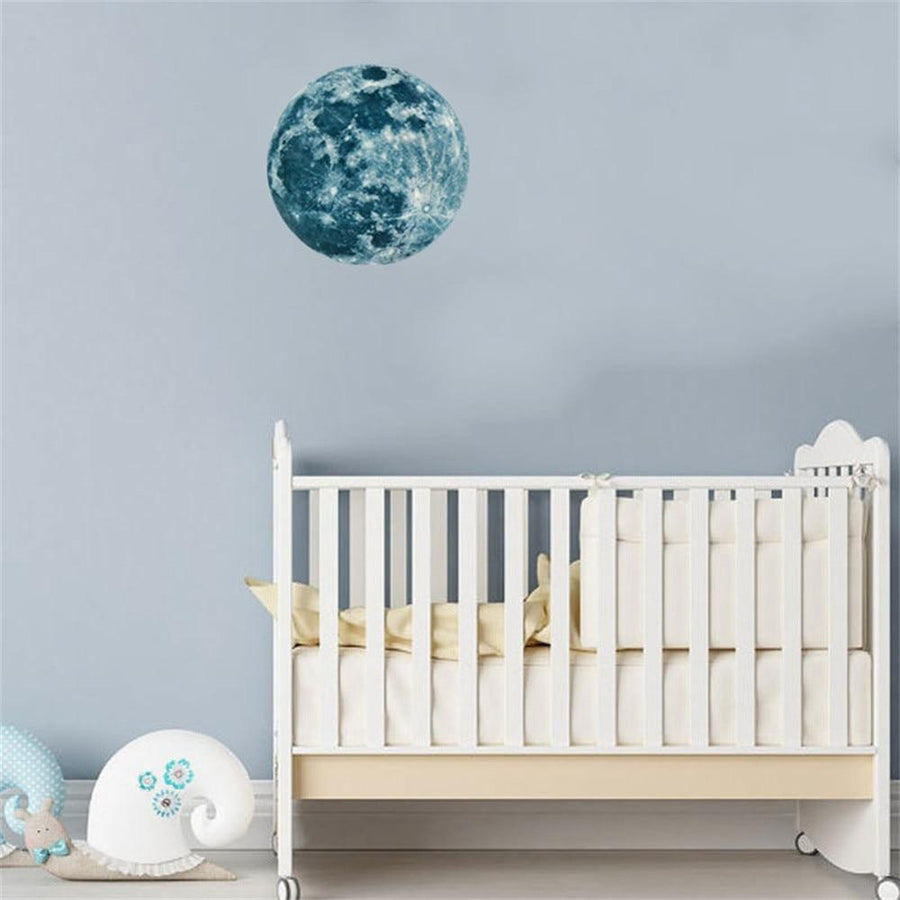 Luminous Moon Wall Stickers