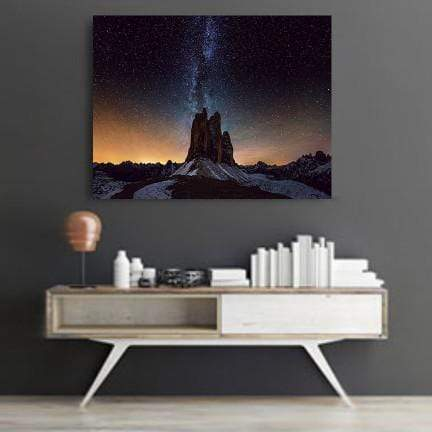 Mountain Space Canvas Set