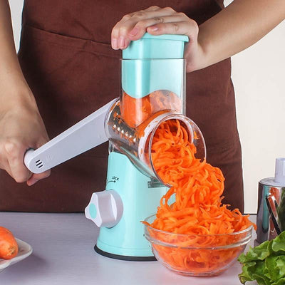 Multifunctional Manual Vegetable Spiral Slicer - san-diego-art-house