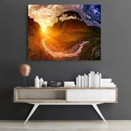 Nature Symbols Canvas Set