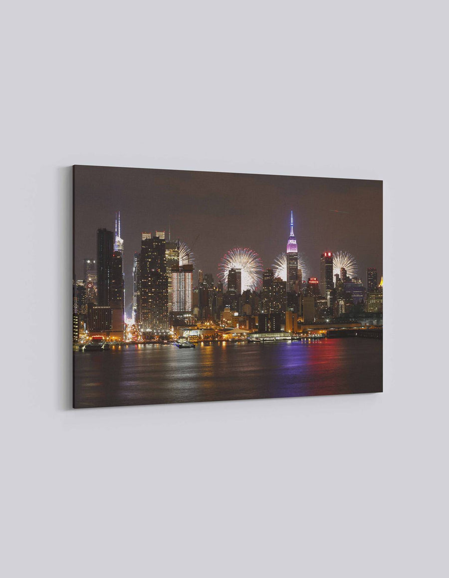 New York 4th July Celebration | American Independence Day | 03 | Canvas Art