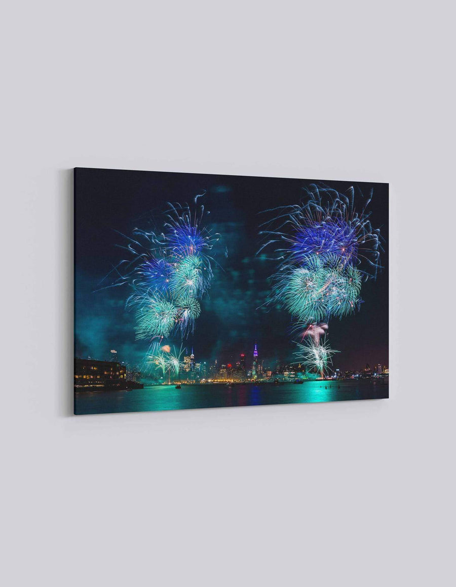 New York 4th July Celebration | American Independence Day | 04 | Canvas Art