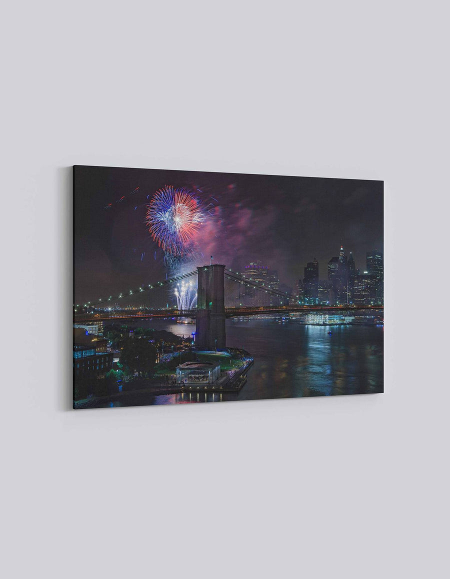 New York 4th July Celebration | American Independence Day | 05 | Canvas Art