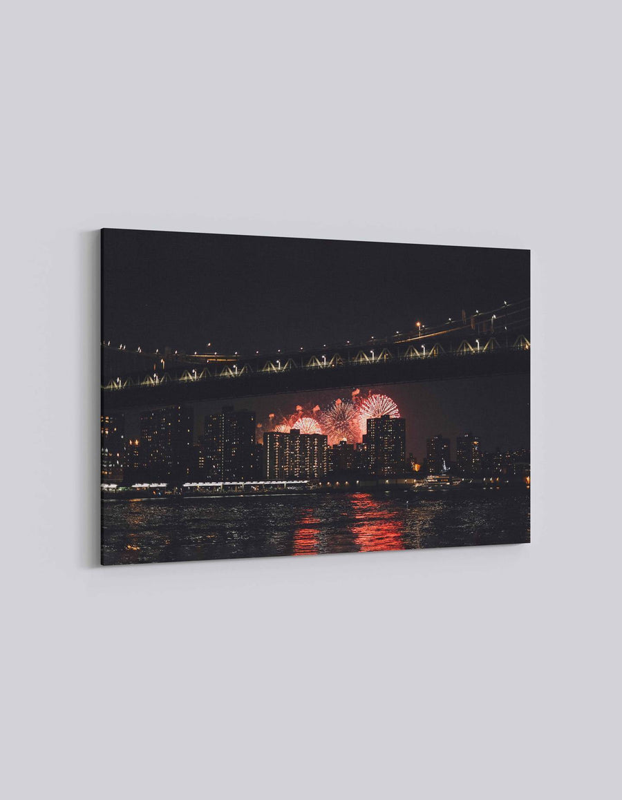 New York 4th July Celebration | American Independence Day | 06 | Canvas Art