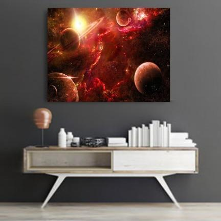 Outer Space Canvas Set