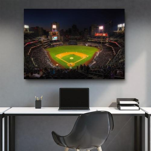 CANVAS ART LAB Petco Park At Night Canvas Set