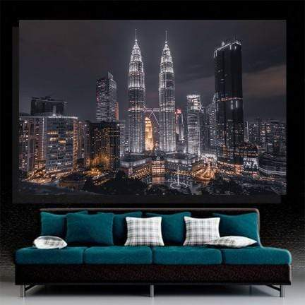 Petronas Twin Towers Canvas Set