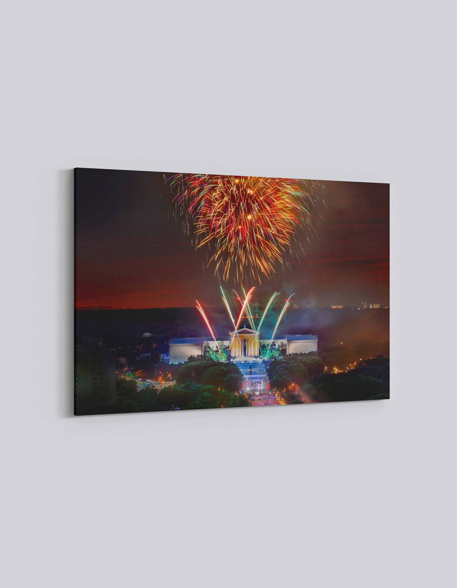 Philadelphia 4th July Celebration | American Independence Day | 01 | Canvas Art