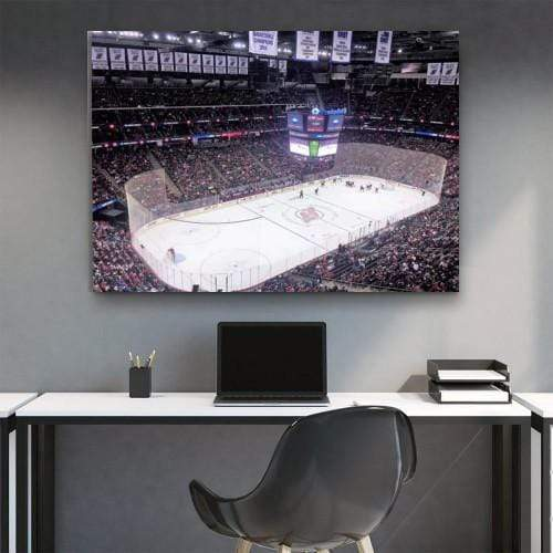 Prudential Center Devils Canvas Set - san-diego-art-house