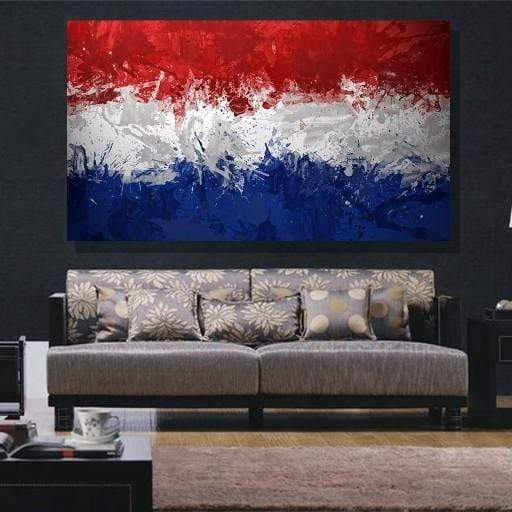 Russian Flag Canvas Set