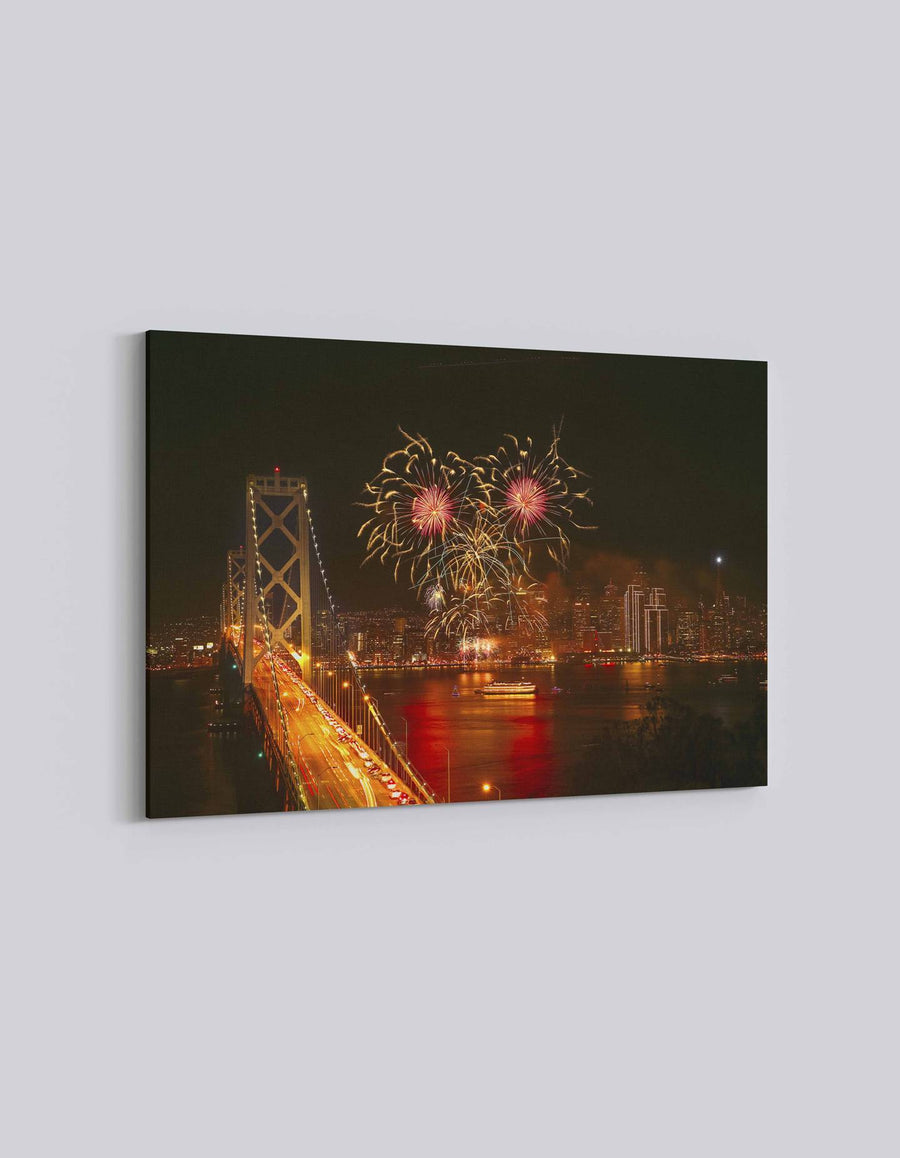 San Francisco 4th July Celebration | American Independence Day | 01 | Canvas Art