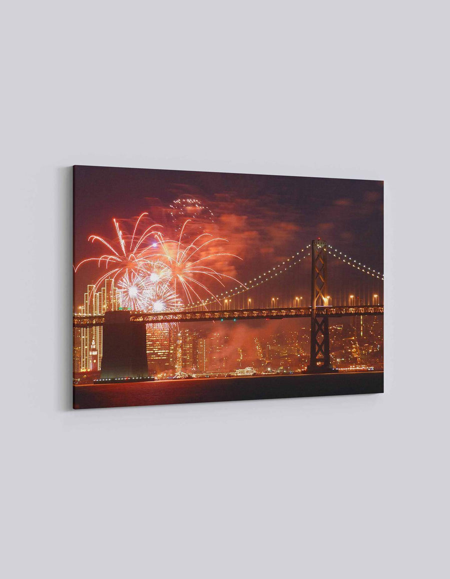 San Francisco 4th July Celebration | American Independence Day | 02 | Canvas Art