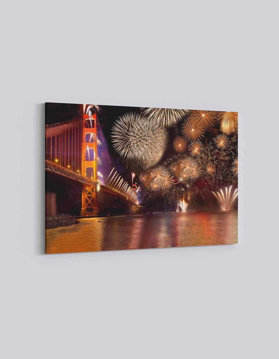 San Francisco 4th July Celebration | American Independence Day | 03 | Canvas Art