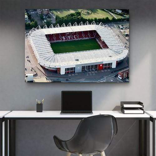 CANVAS ART LAB Soccer Stadium Canvas Set