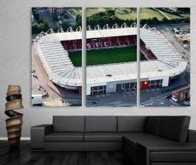 san-diego-art-house - Soccer Stadium Canvas Set - CANVAS ART LAB -