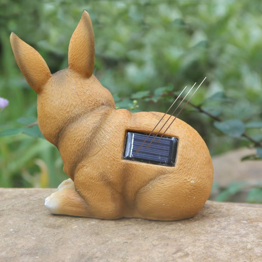 Solar Powered Rabbit Lamp - san-diego-art-house