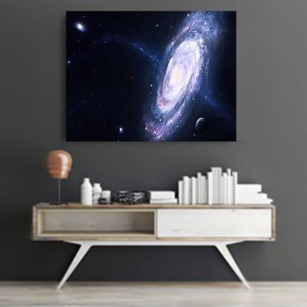 Spiral Galaxy Canvas Set
