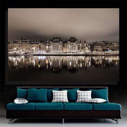 Stockholm Night Canvas Set