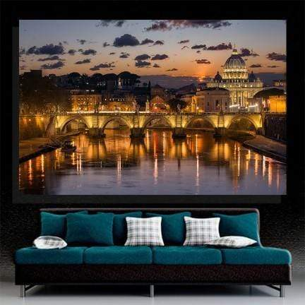 Sunset In Rome Canvas Set