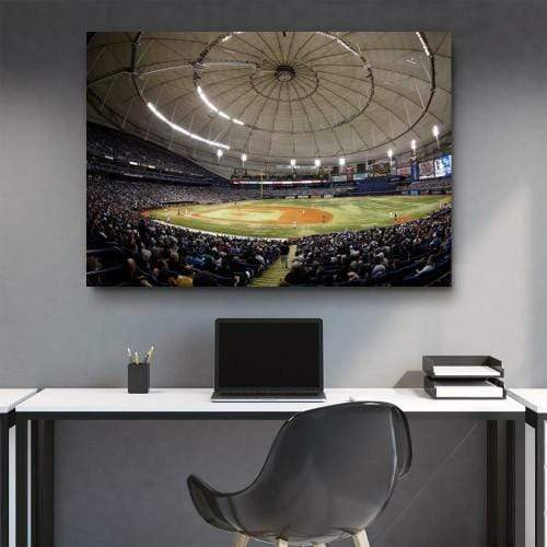 CANVAS ART LAB Tampa Bay Baseball Park Canvas Set