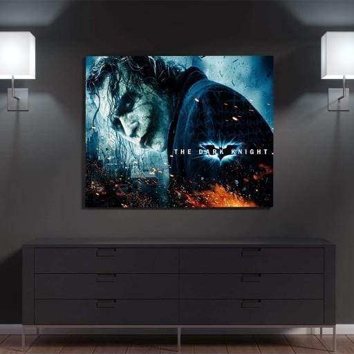 The Dark Knight Canvas Set | Joker