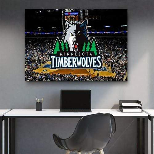 Timberwolves Stadium Canvas Set