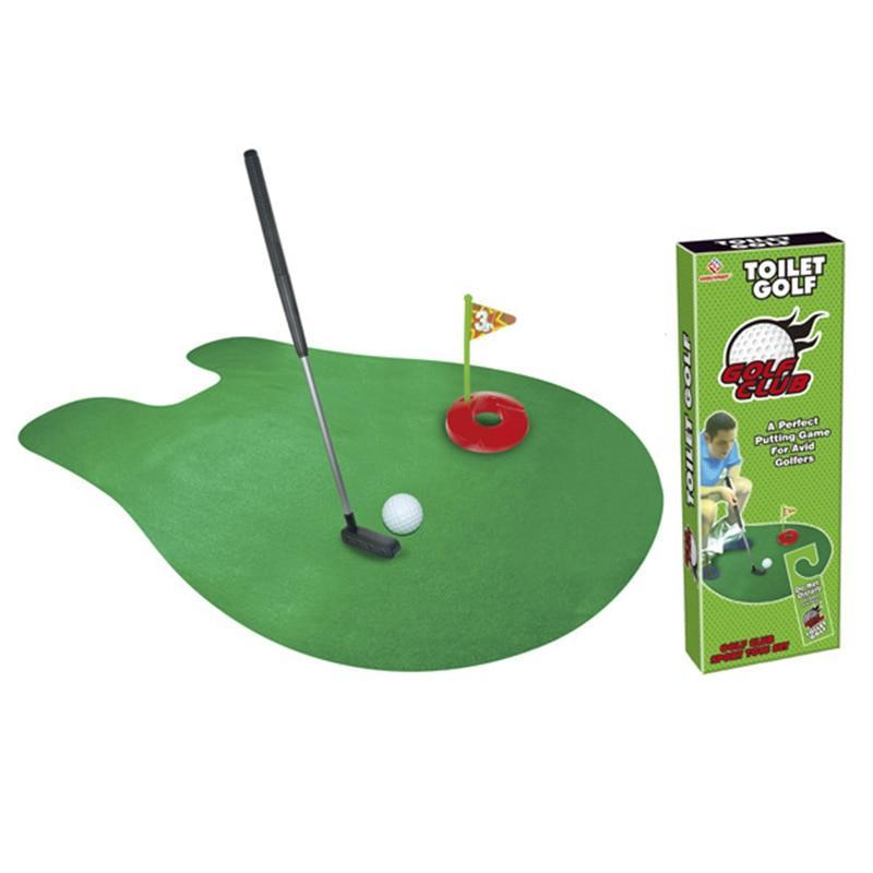 Toilet Golf Putter Set - san-diego-art-house