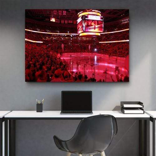 Verizone Center Washington Wizard Canvas Set