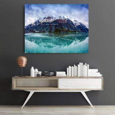 san-diego-art-house - White Mountains Canvas Set - CANVAS ART LAB -
