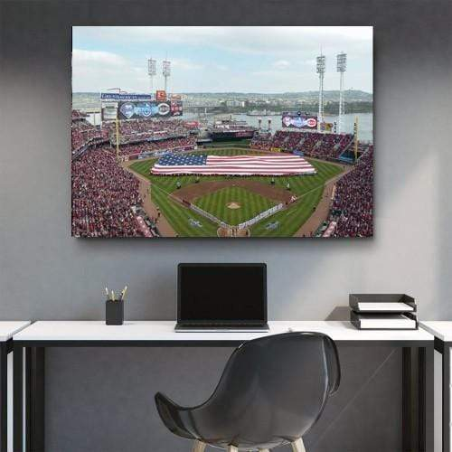 Wrigley Field American Flag Canvas Set