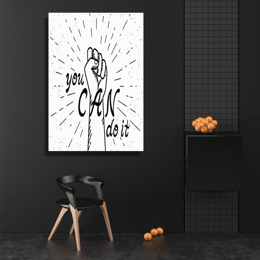 You Can Do It canvas Art