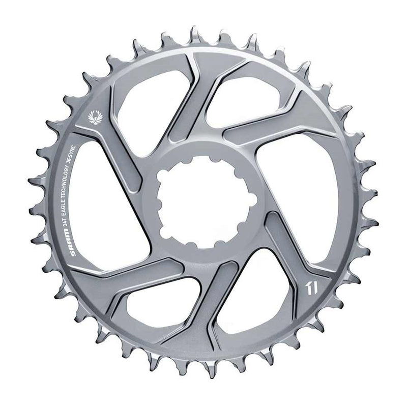 Sram X-Sync 2 X01 Eagle Polar Grey, Chainring Bcd: Direct Mount, Single, Alloy