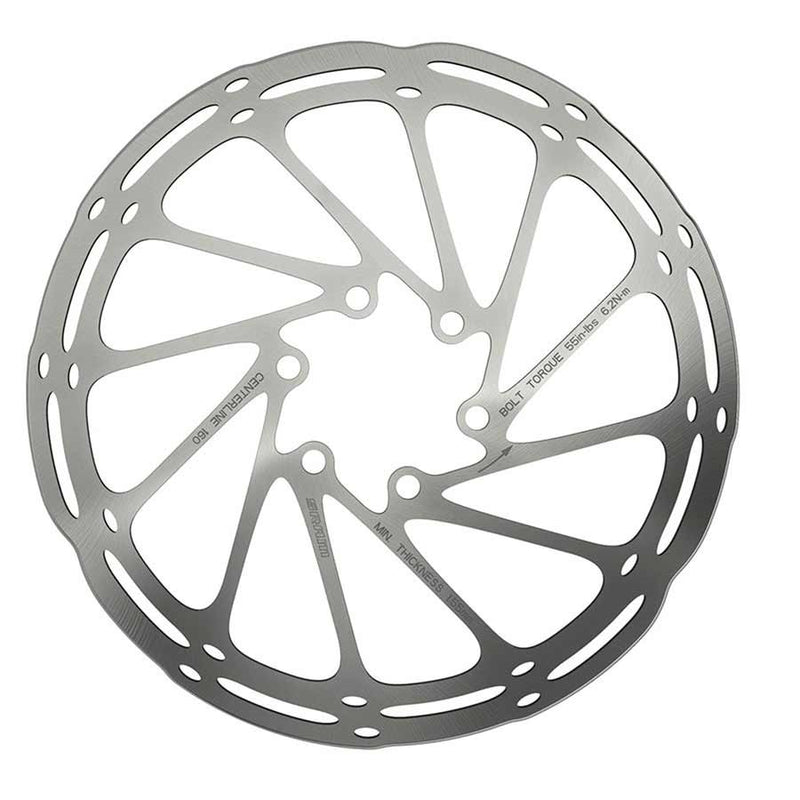 Sram Centerline Rounded Disc Brake Rotor - 6 Bolt
