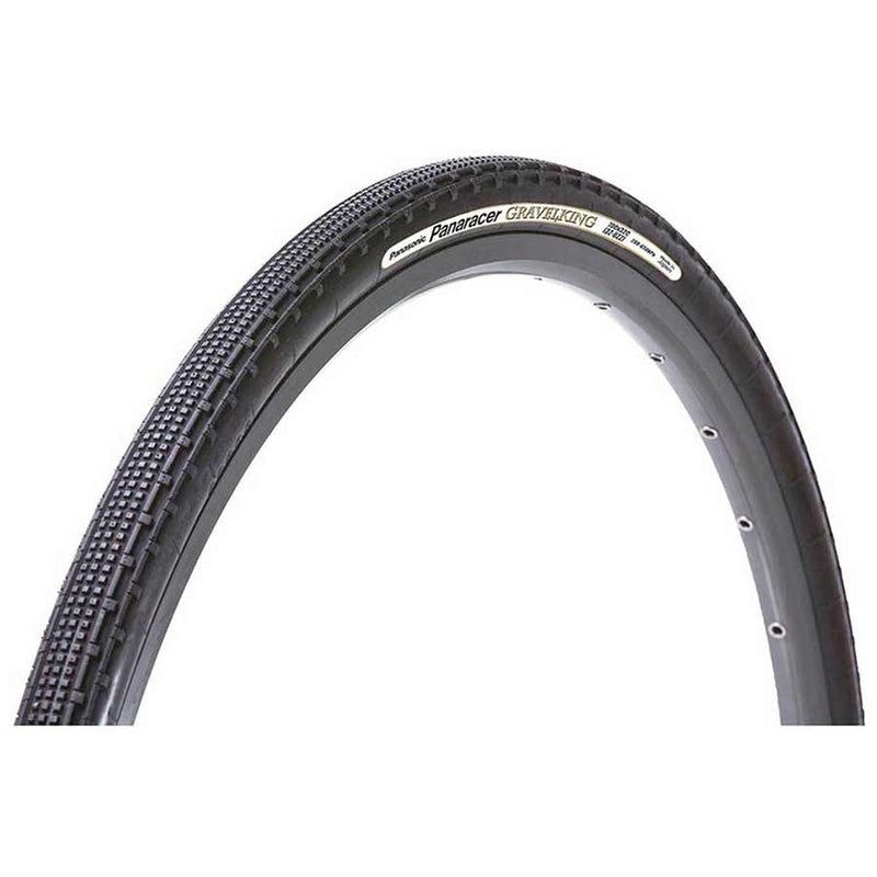 Panaracer Gravelking Sk Tire Folding Tubeless Ready Zsg Natural Tubeless Ready 126Tpi Black 700X38C