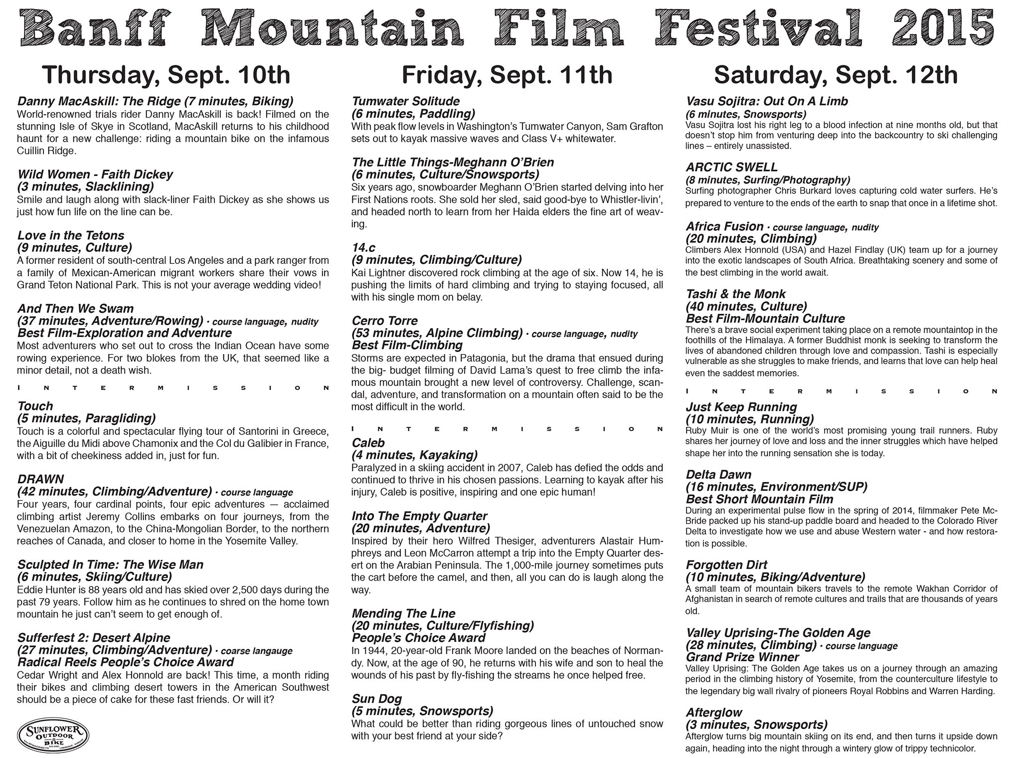Banff Mountain Film Festival Tickets On Sale Now