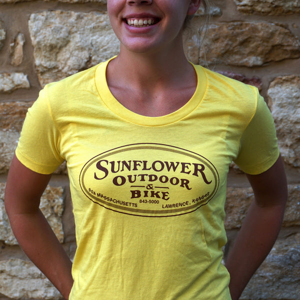 Ladies Sunflower Summer Shirt