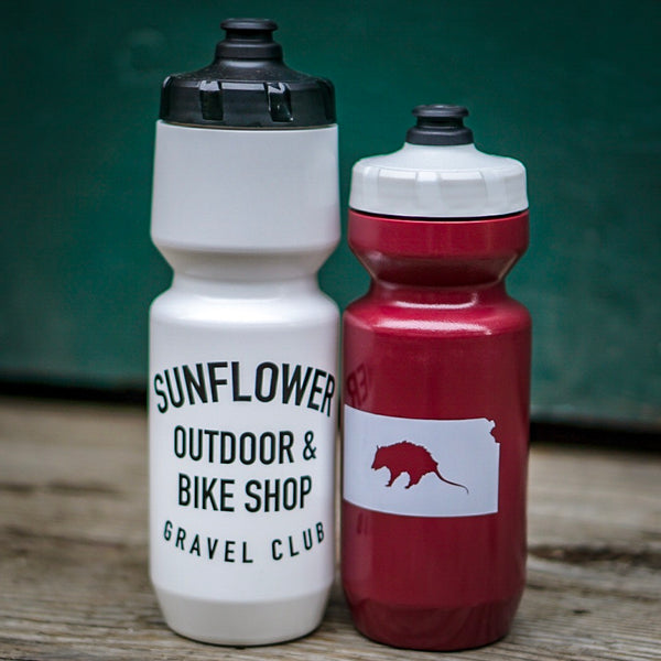 White 26 oz. Gravel Club Water Bottle