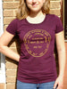 Ladies Geo Tri-Berry Tee