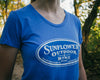 Ladies Vintage Blue Tee