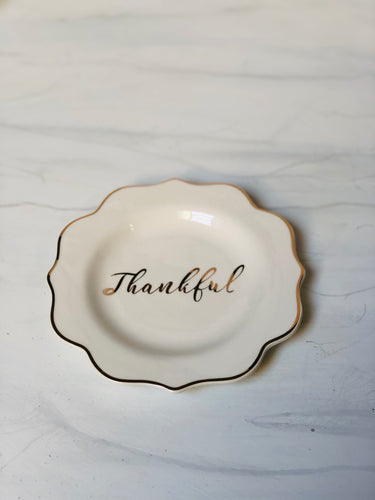 Thankful Appetizer Plate