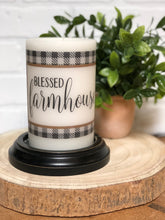 Load image into Gallery viewer, Farmhouse LastingLite Candle Set & Candle Sleeve