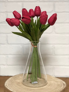 Real Touch Long Stem Tulip Bouquet